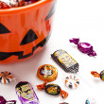 Overflowing halloween bucket — Stock Photo #13400157