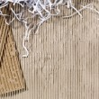 Recycled card board — Stockfoto #13400363