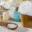 Set of a spa product — Foto de Stock
