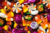 смешанные красочные конфеты — Стоковое фото