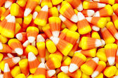Pile of candy corn — Stock Photo