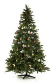 Full length christmas tree — Stock Photo