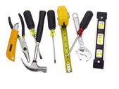 Lots of tools — Foto de Stock