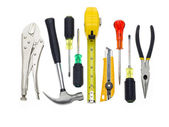 Bunch of tools — Foto de Stock