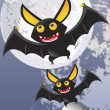 Stock Photo: Vampire bats vector