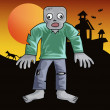 Zombie clip art — Stock Photo #13525039