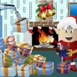 Christmas elf clip art — Stock Photo #13525371