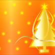Vector christmas tree background — Stock Photo #13525409