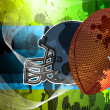 Abstract american football background — Stock Photo