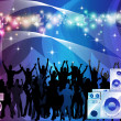Crowd of party vector — Stock Photo #13525929