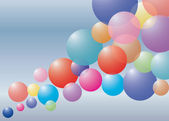 Clip art of round colorful background — Stock Photo