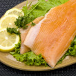 Prepared Salmon Dish — Stock Photo