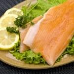 Prepared Salmon Dish — Stock Photo