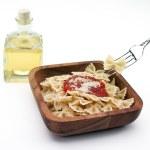 Bowtie pasta bowl — Stock Photo #13668904