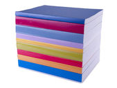 Colorful books stock photo — Stock Photo