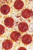 Italian pepperoni pizza — Stock Photo
