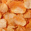 Barbecue flavored potato chips — Stock Photo #14081150