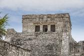 トゥルム メキシコでフレスコ画寺 — ストック写真