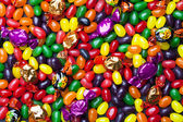 Full frame of halloween candies — Stock Photo