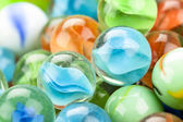 Fun marble balls — Stock Photo