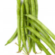 Green string beans — Stock fotografie