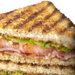 Royalty-Free Stock Photo: Grilled blt sandwich