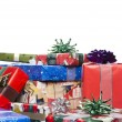 Heap of christmas presents - Stock Photo