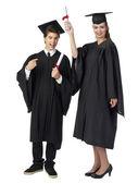 Estudiantes de posgrado — Foto de Stock