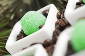 Azúcar de jalea verde — Foto de Stock