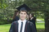 Guy on his graduation day — Stock Photo