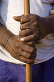 Hand grasp — Stock Photo