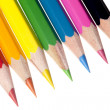 Stock Photo: Coloured pencil image