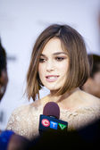 Keira knightley at tiff 2011 — Stock Photo