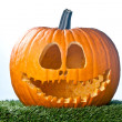 Stock Photo: Smiling jack o lantern