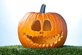 Smiling jack o lantern — Stock Photo