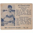 Al gionfriddo baseball card — Stock Photo #17154161