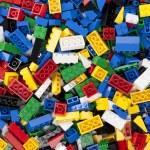 Assorted plastic toy bricks — Stock Photo #17158391
