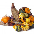 Stock Photo: Autumn cornucopia