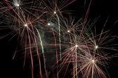 Fireworks everywhere — Stock Photo