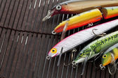 Fishing lures — Stock Photo