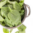 Stock Photo: Fresh spinach