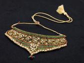 золотое ожерелье древних — Стоковое фото