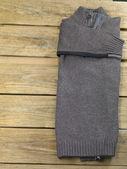 Gray sweater — Stock Photo