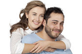 Feliz pareja dulce — Foto de Stock