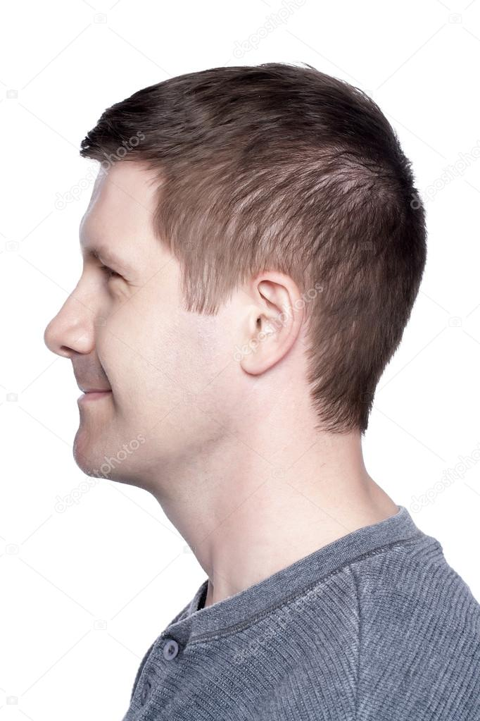 Mans face in side view — Stock Photo © kozzi2 #17209623