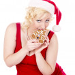 Ms claus cookies — Stock Photo #17214173