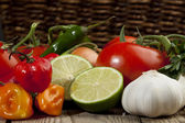 Mexican vegetables — Stock Photo