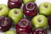 Mixed apples — Stock Photo