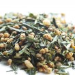 Dry herbal tea leaves — Stockfoto