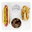 Fatty foods — Stock Photo